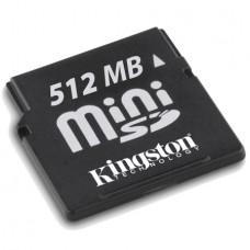 MINI SD 512MB KINGSTON